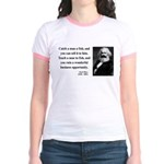 Karl Marx 4 Jr. Ringer T-Shirt