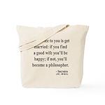 Socrates 14 Tote Bag