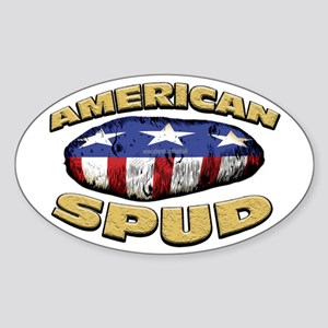 American Spud... Oval Sticker