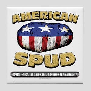 American Spud... Tile Coaster