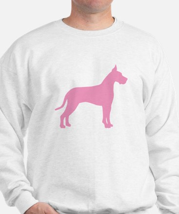 Pink Great Dane Sweatshirt