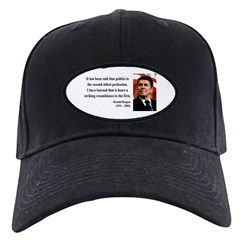 Ronald Reagan 8 Baseball Hat