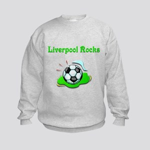 Liverpool Rocks Kids Sweatshirt