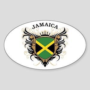 Jamaica Sticker (Oval)