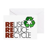 Reuse Reduce Recycle Greeting Card