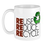 Reuse Reduce Recycle Mug