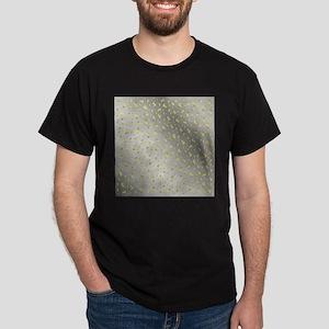 golden dollar symbol in metal silver struk T-Shirt