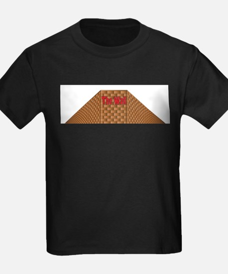 Isolated Perspective Graffiti Wall T-Shirt