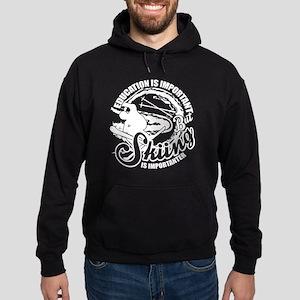 Skiing Is Importanter T Shirt Sweatshirt