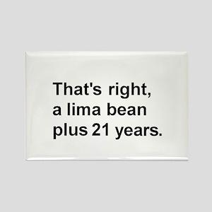 Lima Bean? Rectangle Magnet