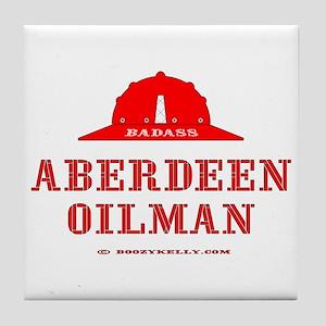 Aberdeen Oilman Tile Coaster