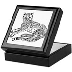 Cheetah Cub Keepsake Box