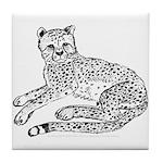 Cheetah Cub Tile Coaster