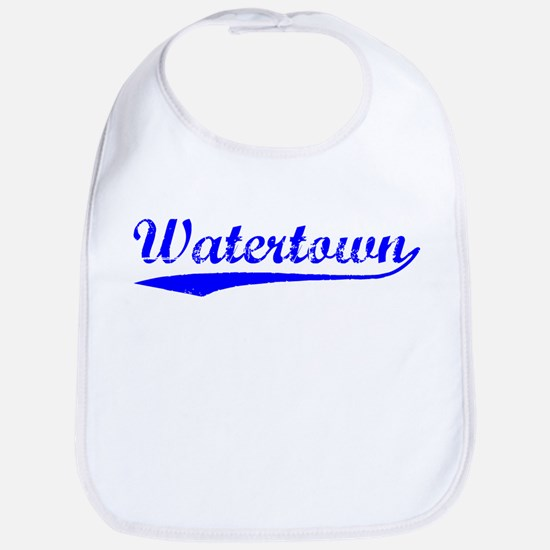 Vintage Watertown (Blue) Bib