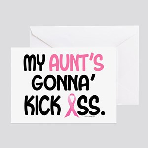 Gonna' Kick Ass 1 (Aunt) Greeting Card