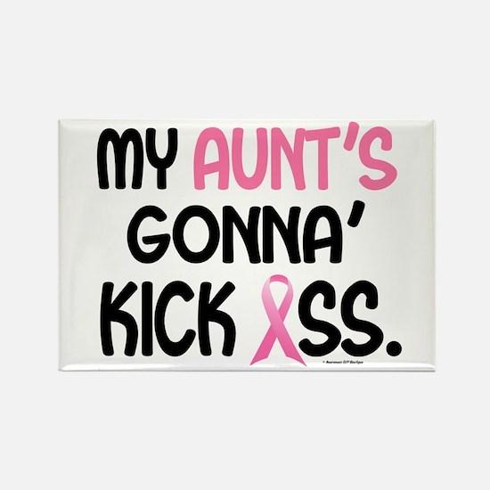 Gonna' Kick Ass 1 (Aunt) Rectangle Magnet