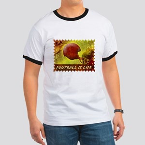Football Life Color Ringer T