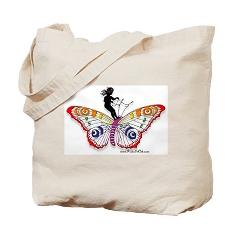 Fairy & the Butterfly Tote Bag