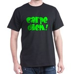 carpe Diem (green) Dark T-Shirt