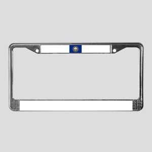 """""""New Hampshire State Flag"""" License Plate Frame"""