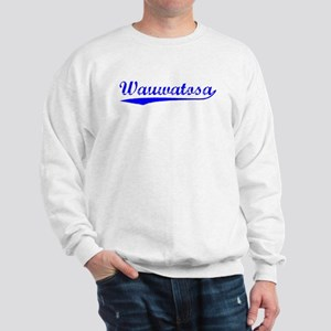 Vintage Wauwatosa (Blue) Sweatshirt