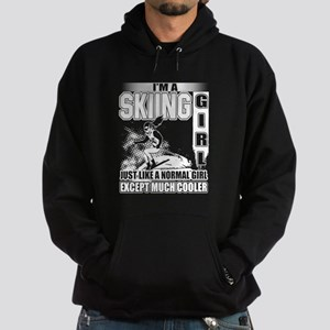 I'm A Skiing Girl T Shirt Sweatshirt