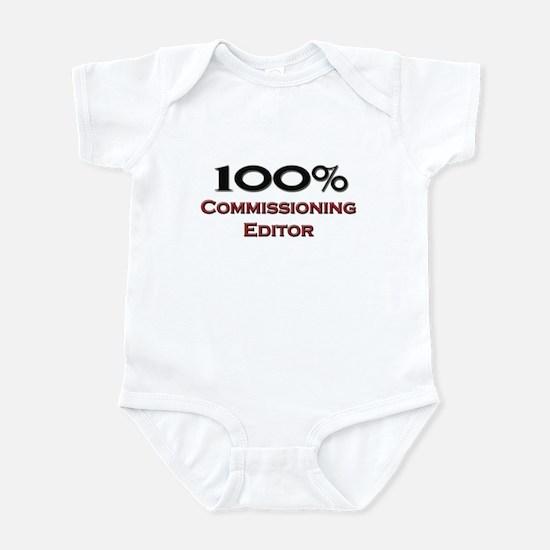 100 Percent Commissioning Editor Infant Bodysuit