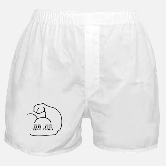Real Men Have Twins Boxer Shorts
