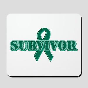 Green Ribbon Survivor Mousepad