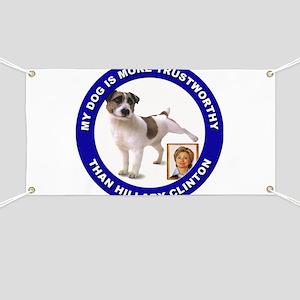 Anti Hillary Clinton Banner