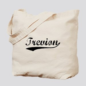 Vintage Trevion (Black) Tote Bag