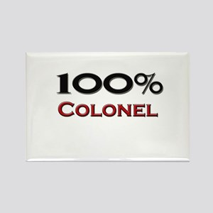 100 Percent Colonel Rectangle Magnet