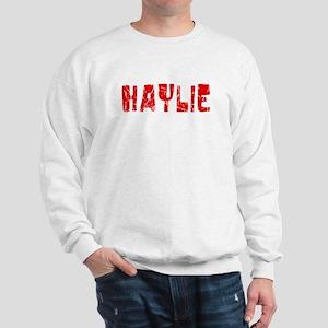 Haylie Faded (Red) Sweatshirt