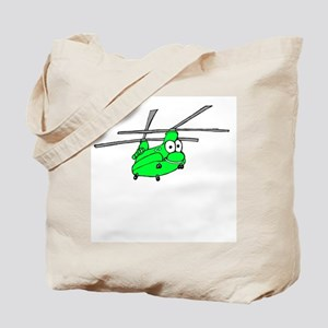 CH-47 Green Tote Bag