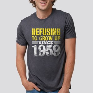 Refusing To Grow Up Since 1959 Vintage Old T-Shirt
