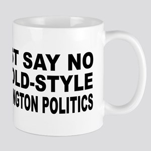 Anti-Hillary Old Politics Mug