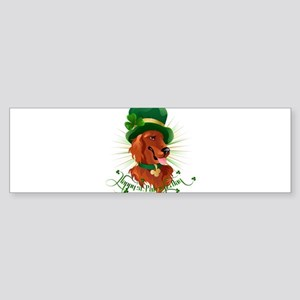 Happy saint patrick's day! Bumper Sticker