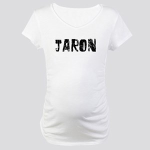 Jaron Faded (Black) Maternity T-Shirt
