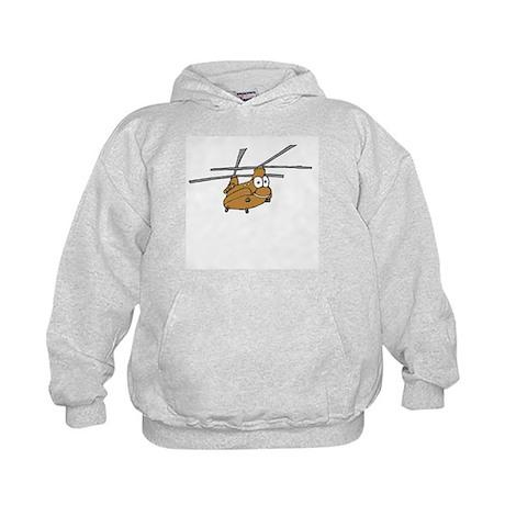 CH-47 Tan Kids Hoodie