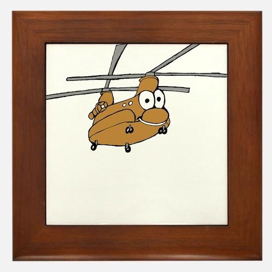CH-47 Tan Framed Tile