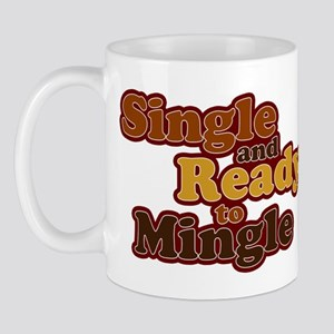 Single and Ready to Mingle Ba Mug