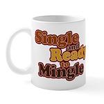 Single and Ready to Mingle Ba Mug