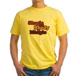 Single and Ready to Mingle Ba Yellow T-Shirt