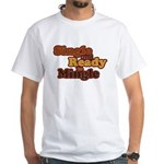 Single and Ready to Mingle Ba White T-Shirt