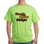 Single and Ready to Mingle Ba Green T-Shirt