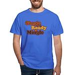 Single and Ready to Mingle Ba Dark T-Shirt