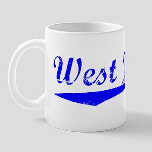 Vintage West Jordan (Blue) Mug