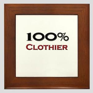 100 Percent Clothier Framed Tile