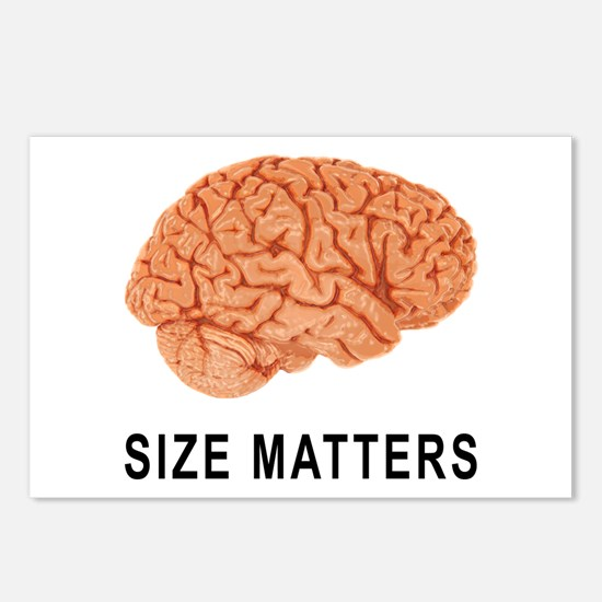 Size Matters Postcards (Package of 8)