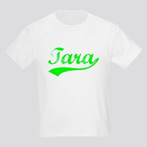 Vintage Tara (Green) Kids Light T-Shirt